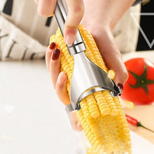 Load image into Gallery viewer, Stainless Steel Corn Cutter Peeler Stripper Corn Thresher Tool Slicer Corn Stripper