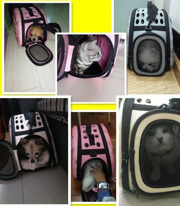 Pet Carrier Puppy Dog Cat Outdoor Travel Shoulder Bag for Small Dog