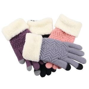 Knitted Touchscreen Gloves