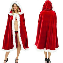 Load image into Gallery viewer, Romantic Christmas Cosplay Women Red Temptation Unique Cloak Stage Party Costume