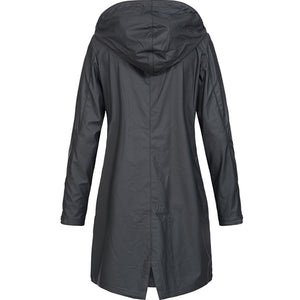 Women's Waterproof RainCoat Jacket Hooded Outdoor Coats