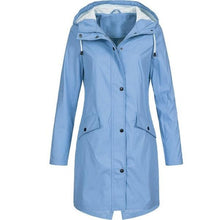 Load image into Gallery viewer, Women's Waterproof RainCoat Jacket Hooded Outdoor Coats
