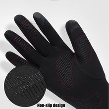 Load image into Gallery viewer, Windproof Waterproof Winter Warm Gloves Touch Screen Full Finger Gloves