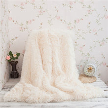 Load image into Gallery viewer, Large Soft Warm Shaggy Faux Fur Throw Blanket Sofa Double King Bed Blanket