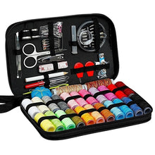 Load image into Gallery viewer, Large Capacity Black Sewing Kit Bag Portable Home Sewing Equipment