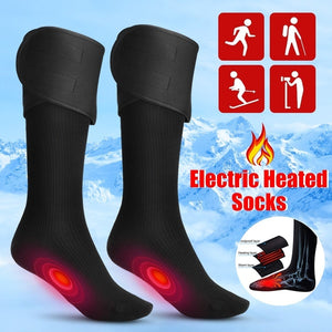 Electric Charging Battery Heated Cotton Socks