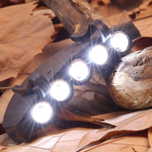 Energy Saving Headlight HeadLamp Flashlight Clip-On Cap Hat Torch Head Light Lamp