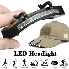 Load image into Gallery viewer, Energy Saving Headlight HeadLamp Flashlight Clip-On Cap Hat Torch Head Light Lamp