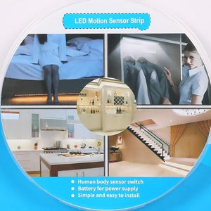 Motion Sensor LED Strip Lighting