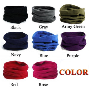 3 In 1 Winter Unisex Multifunctional Sport Scarf Headwear Face Mask Outdoor Neck Warmer Beanie