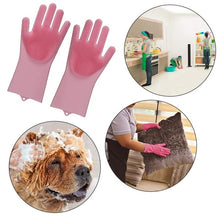 Load image into Gallery viewer, Multifunction Silicone Dishwashing Gloves Use for Kitchen Household Cleaning