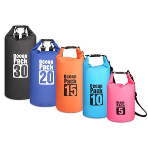 PVC 5L/10L/20L/30L Outdoor Waterproof Bag