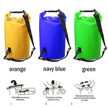 Load image into Gallery viewer, PVC 5L/10L/20L/30L Outdoor Waterproof Bag