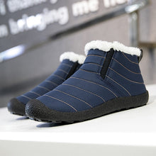 Load image into Gallery viewer, Unisex Winter Snow Boots Cotton Inside Antiskid Bottom Keep Warm Waterproof Ski Flats