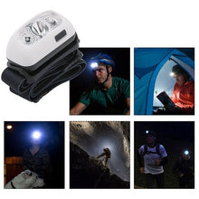 Load image into Gallery viewer, 5000Lm Mini Rechargeable Led Headlamp Body Motion Sensor Headlight Camping Flashlight Head Light Torch Lamp With Usb
