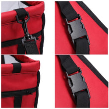 Load image into Gallery viewer, Pet Car Safety Seat Breathable Waterproof Cat Dog Travel Carrier Bag Basket