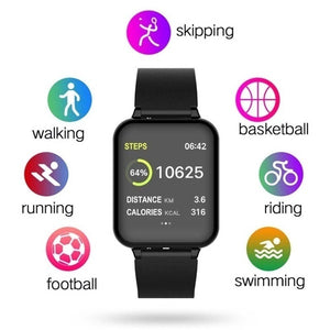 B57 Men Sport Smart Watch IP67 Waterproof Smartwatch Heart Rate Monitor for Men & Women