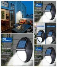Load image into Gallery viewer, 10 LED Automatically Turns On Waterproof  Solar Power Wall Light Garden Lighting
