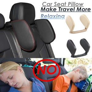 Car Seat Pillow Headrest Neck Support Travel Sleeping Cushion for Kids Adults