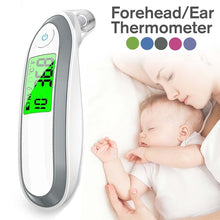 Load image into Gallery viewer, Digital IR Infrared Thermometer Forehead Ear Fever Surface Temperature Medical Equipment