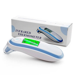 Digital IR Infrared Thermometer Forehead Ear Fever Surface Temperature Medical Equipment