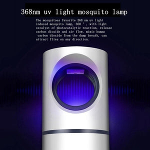 Home Mosquito Killer Lamp Repellent Bug Insect Light Electronic Pest Control