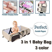 Load image into Gallery viewer, 3 in 1 - Diaper Bag