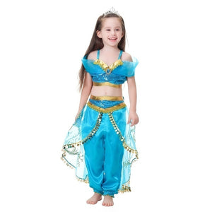 Girls Clothing Set Party Cosplay Costume Kids Party Dress