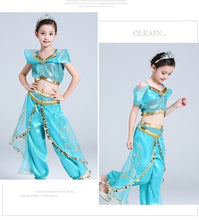 Load image into Gallery viewer, Girls Clothing Set Party Cosplay Costume Kids Party Dress