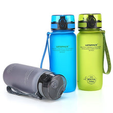 Load image into Gallery viewer, 350ML/500ML/650ML/1L Sport Water Bottle Suitable for Men Women Outdoor Travel Portable Leakproof Tritan Plastic Drink Bottle