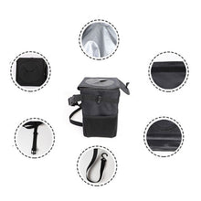 Load image into Gallery viewer, Car Trash Can with Lid and Storage Pockets Foldable Waterproof Waste Cans Fruit Tank