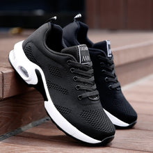 Load image into Gallery viewer, Women Running Shoes Mesh Breathable Air Cushion Tennis Shoes Outdoor Sports Sneakers