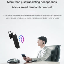 Load image into Gallery viewer, Intelligent Voice Translation Earphone 33-Language Translator Bluetooth