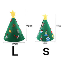 Load image into Gallery viewer, 3D DIY Toddler Christmas Tree New Year Children Gifts Toy Artificial Tree Xmas Home Hanging Ornaments