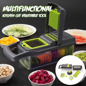7 IN 1 Multi-function Kitchen Cut Vegetable Tool Easy Food Chopper Slicer