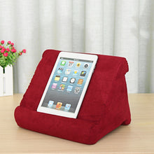 Load image into Gallery viewer, Multi-Angle Soft Pillow Pad Pillow Lap Stand for IPads Tablets