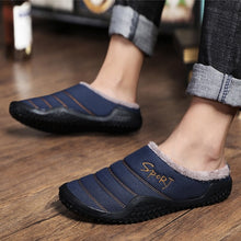 Load image into Gallery viewer, Unisex Autumn/winter Plus Size Cotton Shoes Warm Slippers Size