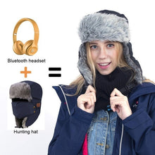 Load image into Gallery viewer, Wireless Bluetooth 5.0 Smart Snow Hat Headband Headset Bluetooth Earphone Hats