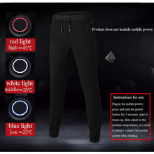 Load image into Gallery viewer, Smart Heating Electric Pants Winter Outdoor USB Charging Thermostat Warm Trousers