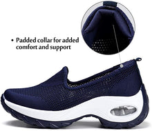 Load image into Gallery viewer, Womens Trainers Breathable Running Shoes Air Cushion Slip On Walking Shoes