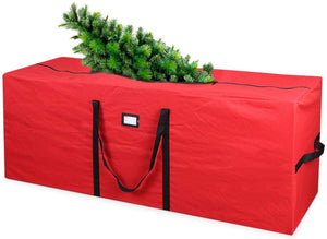Durable 600D Oxford Xmas Tree Storage Bag Fits Up to 7 Ft. Disassembled Holiday Tree