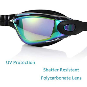 Anti Fog UV Protection Triathlon Swim Goggles with Free Protection Case