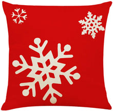 "Load image into Gallery viewer, 4Pcs 18""x18"" Throw Pillow Covers Christmas Decorative Couch Pillow Cases"