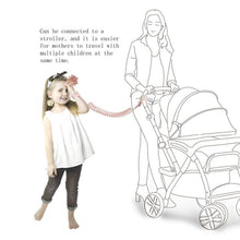 Load image into Gallery viewer, Baby Anti Lost Wristband Safety Reflective Leash with Induction Lock