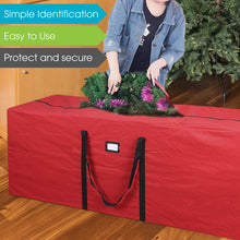 Load image into Gallery viewer, Durable 600D Oxford Xmas Tree Storage Bag Fits Up to 7 Ft. Disassembled Holiday Tree
