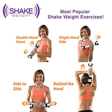 Load image into Gallery viewer, New Ladies Dumbbell Shake Weight Keep Fitness Exercise Free Dvd Upper Body