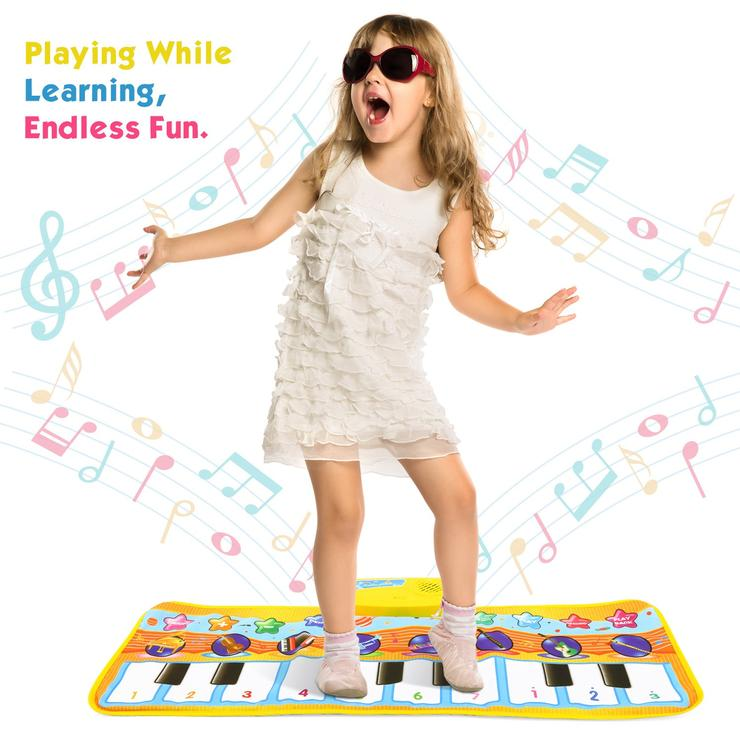 Electronic Musical Piano Mat Dance Blanket Toy