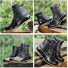 Load image into Gallery viewer, Women's Waterproof Slim Snow Boots Rain Duck Boot