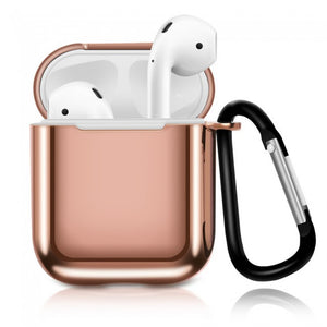 Luxury Plating Airpods Case Drop Proof Air Pods Protective Case