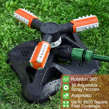Load image into Gallery viewer, Upgrade Lawn Sprinkler Automatic 360 Degree Rotating Irrigation Sprinkler System